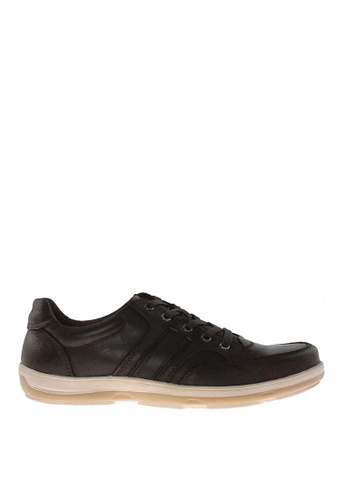 Hush Puppies brown Ethan Lace up Shoes F4831SHF8AFADEGS_1