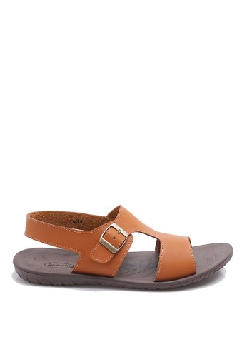 Dr. Kevin brown Dr. Kevin Men Casual Sandals 1632 - Tan DR982SH54AWVID_1