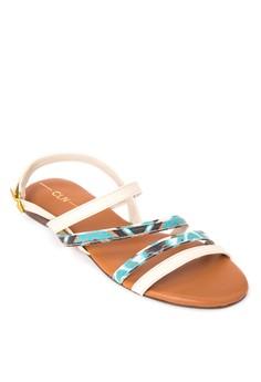 Isabella Flat Sandals
