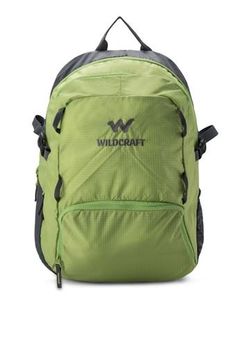 Pradis 撞色拉鍊後背包, 包, 旅行背zalora時尚購物網的koumi koumi包