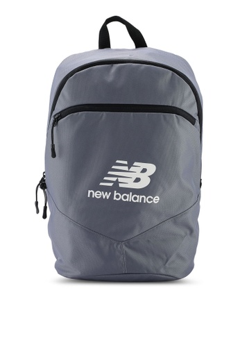 New Balance grey Plecak Backpack 688A2AC21D7E42GS_1