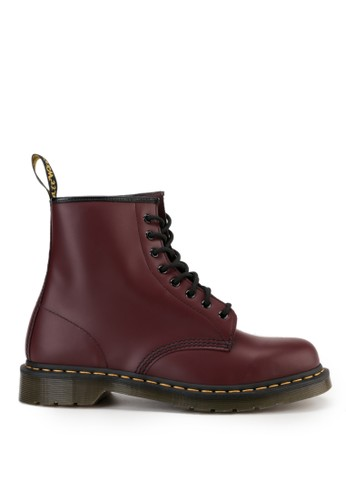 Dr. Martens red 8 Eye Boot 37A71SH93C39C8GS_1