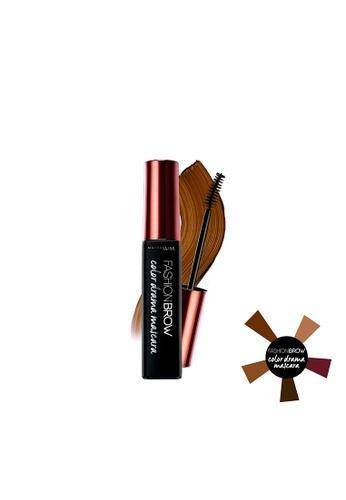 Maybelline brown Color Drama Mascara - Brick Brown D35E5BE766CEA5GS_1
