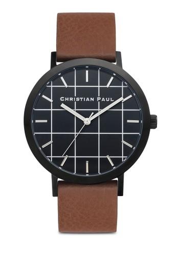 Bridport 格紋手錶, 錶類esprit分店地址, 皮革錶帶