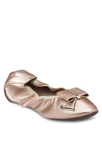 BLAIR 亮面彈性平底鞋,esprit分店 女鞋, 芭蕾平底鞋