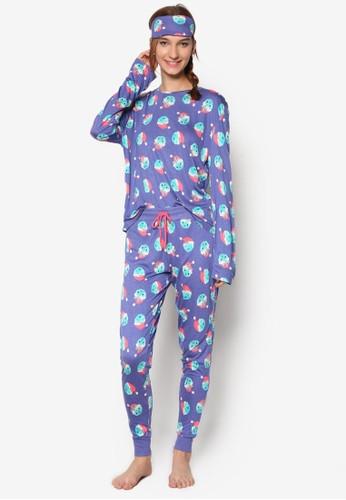 聖esprit outlet hong kong誕主題印花睡衣組合, 服飾, 服飾