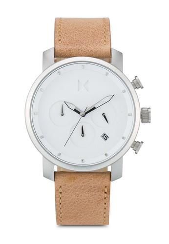 MVMT brown MVMT Chrono 40 Watch - White Caramel MV187AC0SZQRMY_1
