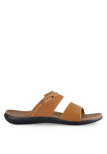 Homyped brown Beyond 02 Men Sandals HO842SH87MDSID_1
