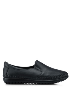 98f922557d3 Louis Cuppers black Casual Loafers 9587BSH7A5B1A2GS 1