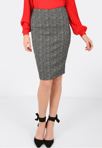 FORCAST black Myra Pencil Skirt 6C495AAF6EF774GS_1