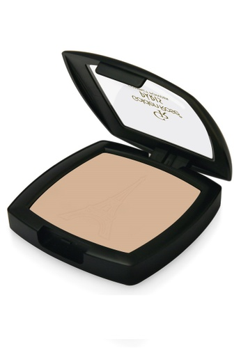 GOLDEN ROSE yellow PARIS COMPACT POWDER - #58 GO743BE98FMBMY_1