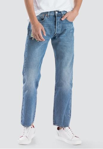 58aace8b Levi's blue Levi's x Peanuts 501 Original Fit Jeans Men 00501-2818  5D829AA6790418GS_1