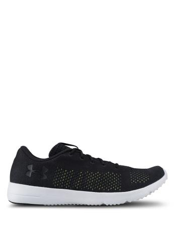 Under Armour black UA Rapid Shoes UN337SH0SU3QMY_1