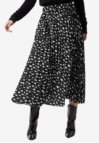 NA-KD 多色 圓點褶飾裙 A1E9BAA7F9508AGS_1