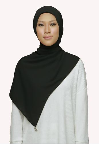 De Leuca black De Leuca Jovie Shawl - Black 0008DACC66D996GS_1