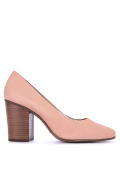 53634b6f2e57 AEROSOLES pink Union Square Closed Toe Heels AE517SHF112988GS 1