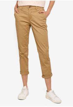 b474a3a68b8f GAP beige Girlfriend Pants E54A3AA4FA827AGS 1