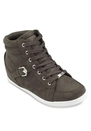 Gledien 麂皮高筒運動鞋, 女鞋esprit 鞋, 鞋