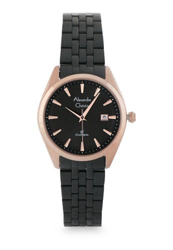 Alexandre Christie black and gold Female Analog Watches 8635 LDBBRBA B1F0FAC217AE04GS_1