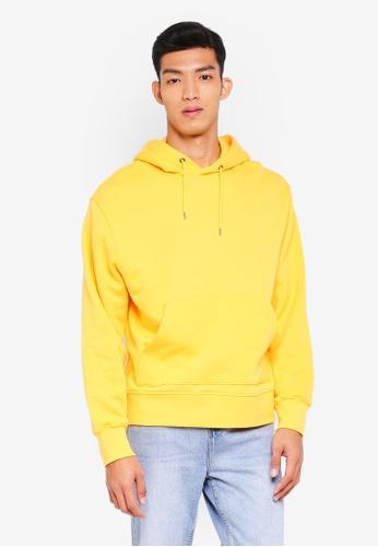 Topman 黃色 Yellow Overhead Hoodie 6EA01AAED61B27GS_1