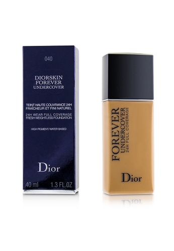 Christian Dior CHRISTIAN DIOR - Diorskin Forever Undercover 24H Wear Full Coverage Water Based Foundation - # 040 Honey Beige 40ml/1.3oz B9BC1BE80CE727GS_1