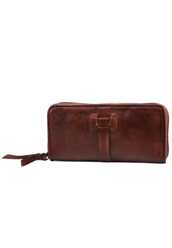 Twenty Eight Shoes Handmade Vintage Leather Wallet 9327 D62A5AC631668DGS_1