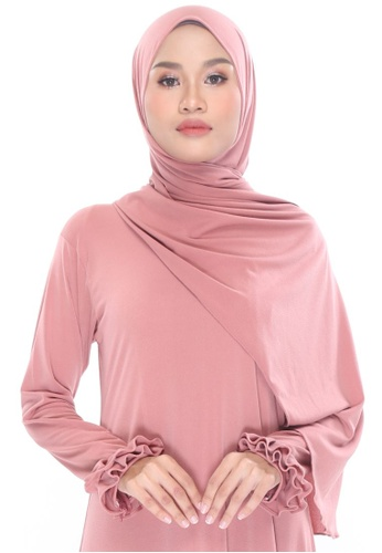 MILLA pink Shawleha Hijab 9B893AA26C1B99GS_1
