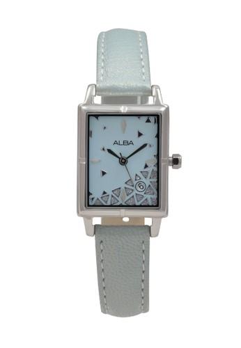 Alba blue ALBA Jam Tangan Wanita - Blue Silver - Leather Strap - AXTZ81 E67EEACECBA95EGS_1