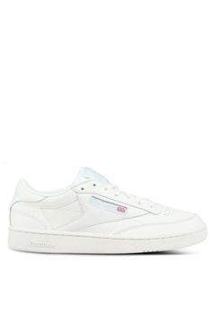df34e39e97f1 Reebok white Club C 85 Mu Shoes DD80ASH1941E2FGS 1
