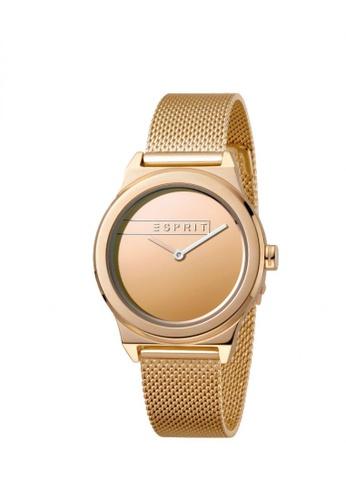 ESPRIT gold Esprit Women Magnolia Rosegold Mesh ES1L019M0095 E2DCCAC50849B3GS_1