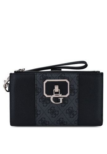 Guess black Noelle Sling Double Zip Organizer CDD29AC9F44410GS_1
