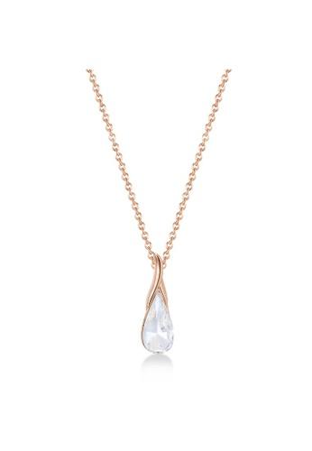 Mestige 銀色 gold Ximena Necklace with Swarovski® Crystals 43447ACB79FDC4GS_1