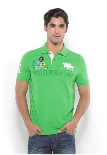 POLO HAUS green Polo Haus - Polo Tee (Green) PO783SE39YJOMY_1
