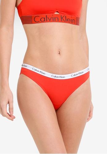 Calvin Klein red Carousel Bikini Panties - Calvin Klein Underwear CA221US20VRVMY_1