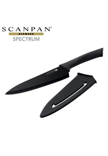 SCANPAN black SCANPAN Spectrum 18cm Chef Knife (Black) B7175HL910308AGS_1