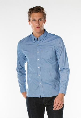 Levi's blue Sunset One Pocket Shirt LE843AA0FWOWSG_1