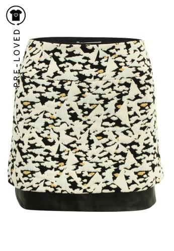 Sandro white Pre-Loved sandro paris White Mini Skirt 6938DAAE61D585GS_1