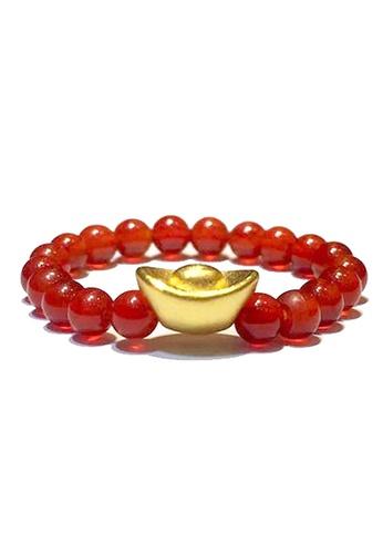 LITZ gold [SPECIAL] LITZ 999 (24K) Gold Charm Ingot Ring 元宝戒指 EPC0894-R-R (0.10g+/-) 4822AAC515205AGS_1