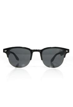 Half Round Lens Sunglasses