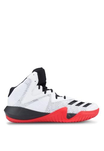 adidas white and multi adidas Crazy Team 2017 AD372SH66EVLMY_1
