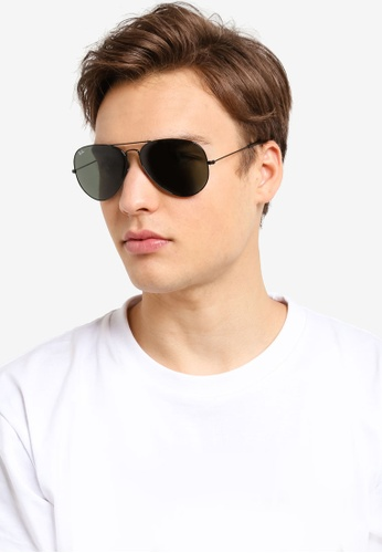 2ae66c0c01 Buy Ray-Ban Aviator Large Metal II RB3026 Sunglasses Online