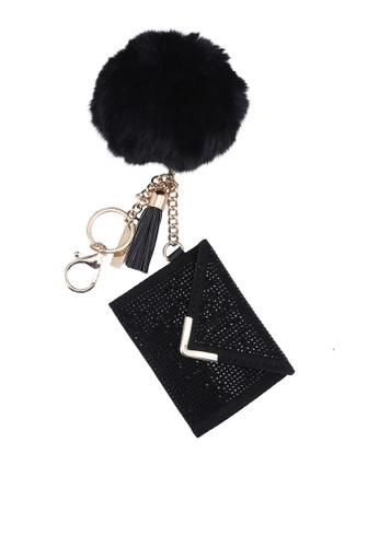 ALDO black Contanarel Card Holder CEE09AC707F0E5GS_1
