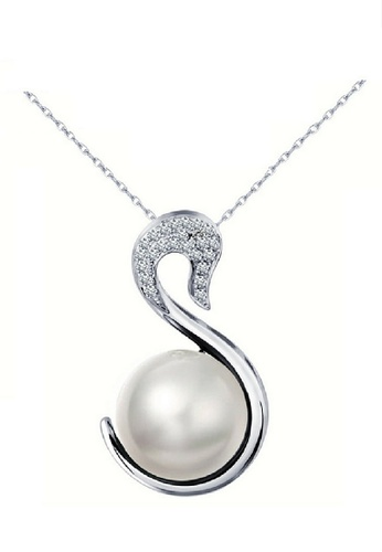 Vivere Rosse silver Splendid Pearl Necklace VI014AC14ONHMY_1