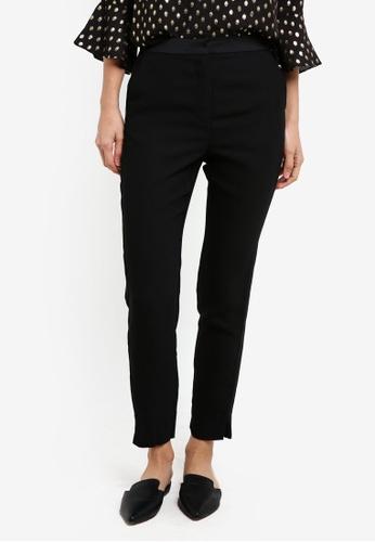 WAREHOUSE black Tuxedo Trousers WA653AA0SC00MY_1