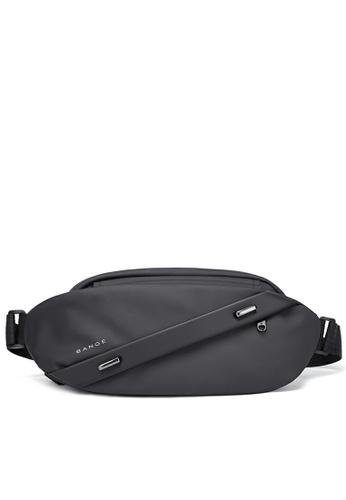 Twenty Eight Shoes black Splicing Functional Chest Bag TC7295 FA76DAC77A3405GS_1