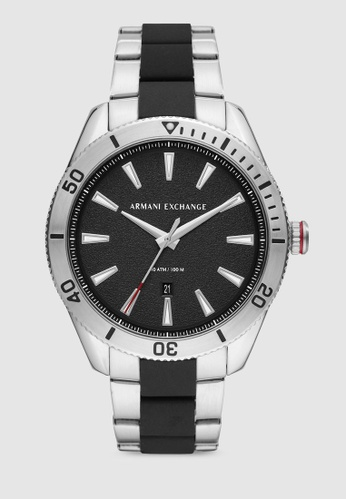 Armani Exchange black Enzo Watch AX1824 2BA01AC5D1983CGS_1