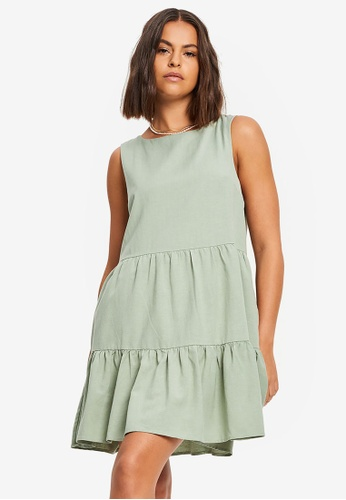 St MRLO green Whitehaven Dress 812DCAA8EFEEA8GS_1