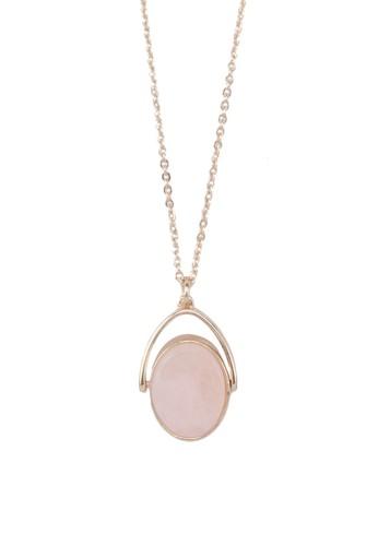 Semi Precious Twist Pendantzalora 手錶 評價 Necklace, 飾品配件, 飾品配件
