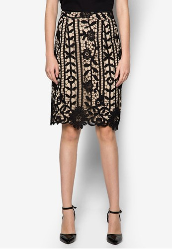 Maxine 蕾絲鉛esprit 台北筆裙, 服飾, 裙子