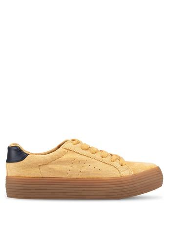 ONLY 米褐色 Saloni Sneaker C666ASHE7F19C1GS_1